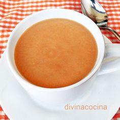 Esta sopa quemagrasa es base de una dieta rápida diurética y depurativa. No recomendamos las dietas rápidas pero los tres primeros días, se eliminan toxinas