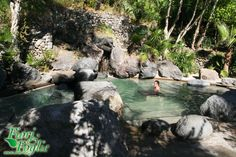 Negombo natural springs in a botanical wonderland, Island of Ischia, Italy