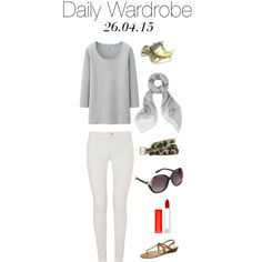 Daily Wardrobe by charlotte-mcfarlane on Polyvore featuring moda, Uniqlo, J Brand, Cassis côte d'azur, Alexander McQueen, ALDO, French Connection and Maybelline