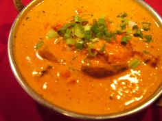 Chicken Tikka Masala. Sub out milk products for coconut products