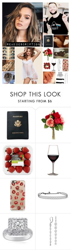 """""""⚫️ Gabriella ⚫️ - Good Morning"""" by forgotten-memories ❤ liked on Polyvore featuring Royce Leather, Victoria's Secret, Casetify, Kenneth Jay Lane, Blue Nile and Glam Bands"""