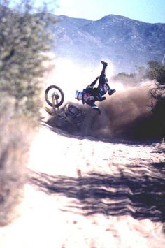 That slow motion moment all MX riders get right before you crash...like oh this is going feel nice 60 mph no big deal;)