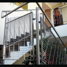 Wire mesh railing - LIGHT DESIGN - Progress Eco Spóka z ...