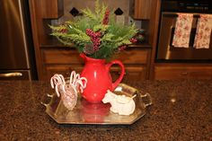 Holiday Home Tour Blog Hop-A Traditional Christmas with a French Country Twist - Belle Bleu Interiors