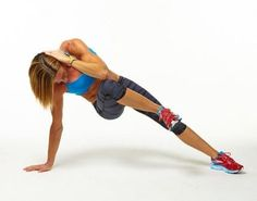 This intense move is part of our 31-day plank challenge that will lead you to the sculpted stomach of your dreams.