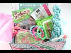 Posh Pak September 2014 Subscription Box Review – Tween Box