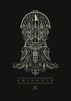Eminence: Xander's Tales by studiosap Creative, via Behance