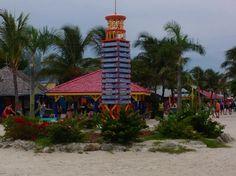 So many things to do at the private island #royalcaribbean #enchantmentoftheseas