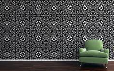 Kry 'n bietjie koffie of tee op die plaas (Have some coffee or tea on the farm) Home Wallpaper, Fabric Wallpaper, Surface Pattern Design, In This World, Enamel, Fabrics, Wallpapers, Homes, Tea