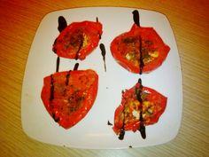 Pomodori con capperi al microonde   Ricette al microonde