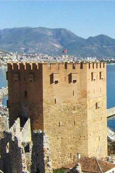Alanya Kalesi (castle) /Antalya /Türkiye