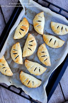 Mushroom filled pastries, the perfect snack or party appetizer!