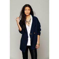 An item from Minipopup.com: #outerwear #blu #boyfriend #jacket #style #basic #chic #essential #fashion #streetstyle #minipopup