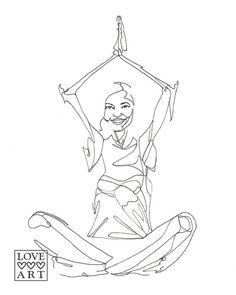 yoga meditation happy pose drawing reference line poses easy sukhasana sketches similar drawings kundalini namaste january tree animal