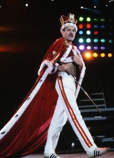 Freddie Mercury - an amazingly talented man and such a loss to the world.  I am thoroughly obsessed with this man.