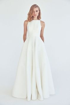 Wonderful Perfect Wedding Dress For The Bride Ideas. Ineffable Perfect Wedding Dress For The Bride Ideas. Bridal Dresses, Prom Dresses, Wedding Dress Styles, Formal Dresses, Wedding Dress Simple, Wedding Dress Pockets, High Neck Wedding Dresses, Boat Neck Wedding Dress, Modern Wedding Dresses