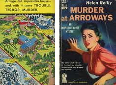 "Helen Reilly ""Murder at Arroways"" Dell Mapback #576; 1952 Bought 10/17/15"