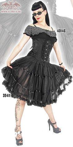 Petticoat 'Black Sin'