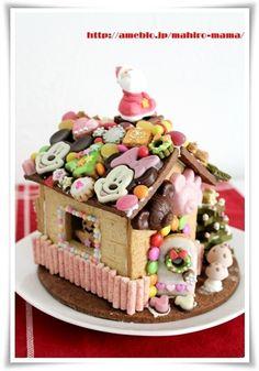 お菓子の家☆ヘクセンハウス2010 by momoさん | レシピブログ - 料理 ...