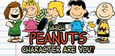 """Which """"Peanuts"""" Character Are You"""