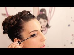 "Tutorial de belleza Olympia ""Un paso más"" por Almudena Cid - YouTube Olympia, Leotards, Bobby Pins, Youtube, Mary, Hair Accessories, Beauty, Rhythmic Gymnastics, Simple Hairstyles"