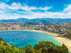 La Concha Beach, San Sebastián, Spain