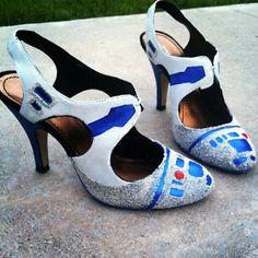 20 Mod Podge shoe projects - revamp your footwear! ~ Mod Podge Rocks!