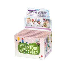 Milestone Baby Cards - husk milepæle - Filur.dk