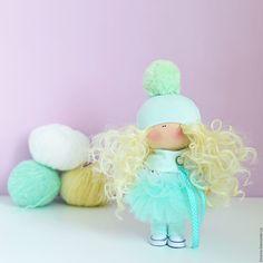 Кукла текстильная интерьерная Мятная повтор – купить или заказать в интернет-магазине на Ярмарке Мастеров | Повтор куколки:<br /> <a…