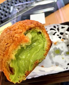 Green tea choux