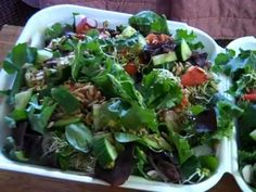60 SECONDS TO RAW FOOD - THE BEST SALAD IN THE WORLD