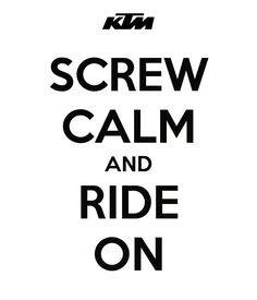 #Motocross #KTM Ride On!