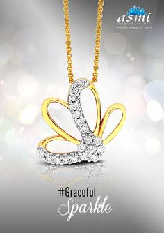 Diamond pendants from asmi diamond jewellery are adornments to accentuate your neck with some gracefulsparkle radiating from this asmi diamond pendant aloadofball Images