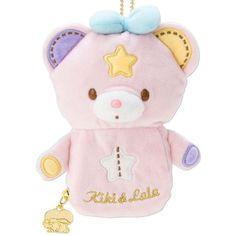 Little Twin Stars Puff & Poff Shaped Sewing Set with Pouch Sanrio Kawaii Cute