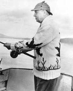 Diefanbaker  fishing