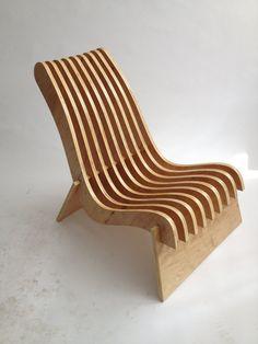 Plywood Chair, Plywood Furniture, Diy Furniture, Furniture Design, Plywood Floors, Plywood Art, Unique Furniture, Luxury Furniture, Foldable Chairs