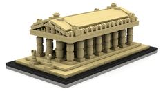 Ancient Wonder: The Temple of Artemis Lego prototype
