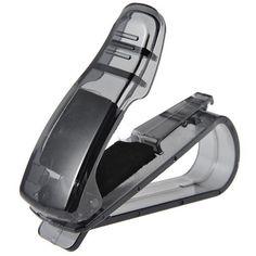 2017 Car styling accesorios Visera de Sol Gafas de Sol Tarjeta de Recibo Del Billete Clip De Almacenamiento Titular Envío gratis