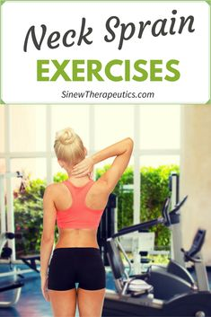Neck Sprain Exercises to build strength and flexibility. Sinew Therapeutics also offers a full line of Sports Injury and Rehabilitation products proven for fast pain relief and quick recovery. Neck Sprain, Neck Injury, Muscle Fitness, Health Fitness, Head Muscles, Neck Exercises, Moving Forward, Pain Relief, Recovery
