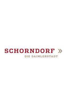 Logo for Schorndorf the Daimler City by JoussenKarliczek, www.j-k.de