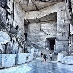 """35 Likes, 8 Comments - The Moodboard at studioHAUS. (@studiohaus) on Instagram: """"Palace of the Gods. #Carrara #italy #marble #pilgrimage #quarry"""""""