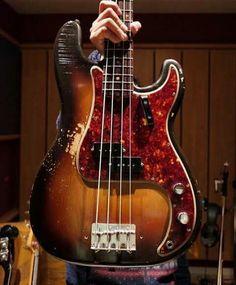 A 1961 Fender P-Bass!!!!