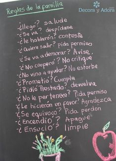 decora y adora House Rules, Kids Education, Kids And Parenting, Home Deco, Ideas Para, Spanish Quotes, Texts, Sweet Home, Life Quotes