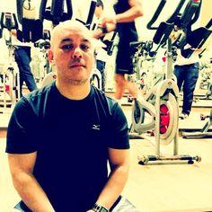 42' de treino pesado de bike com Mestre @hen82 na Bodytech Città às 7h00. Missão dada, missão cumprida! #projeto30tododia