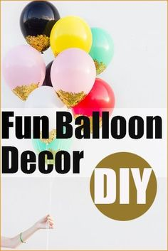 Fun Ways to Decorate With Balloons. Creative party decorations for any occasion. Great for birthday parties, bridal showers, baby showers and more. by nstroup10