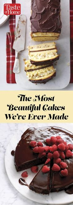 The Most Beautiful Cakes We've Ever Made