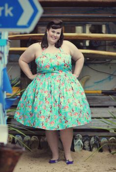 Handmade Halter Mermaid plus size Dress | Silly Old Sea DogSilly Old Sea Dog