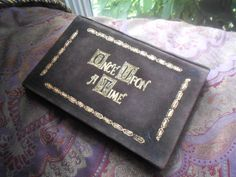 """I WANT THIS! Once Upon A Time Henry's Leather Book Cover for Kindles, iPad Mini or other 6""""-8"""" Tablets"""