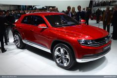VW Cross Coupe concept from the Geneva auto show. Nice.