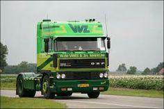 DAF FT 3300 Spacecab van W de Vries in Makkum Show Trucks, Transportation, Van, Vehicles, Space, Holland, Europe, Display, The Nederlands